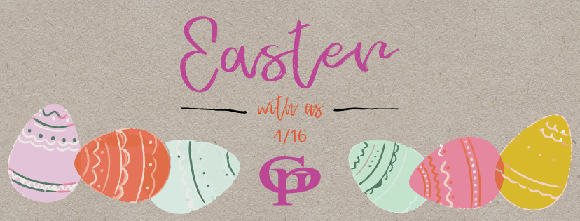 Easter Sunday at The Garlic Poet