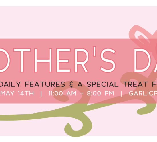 The Garlic Poet Restaurant & Bar Mother's Day Specials Harrisburg York PA
